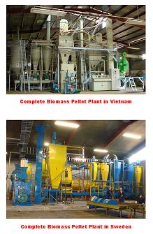Biomass Pelleting Plant