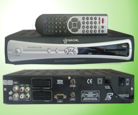 Newest Model-starcom 3400CU DVB S